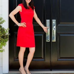 KATE SPADE NEW YORK Red Sheath Dress